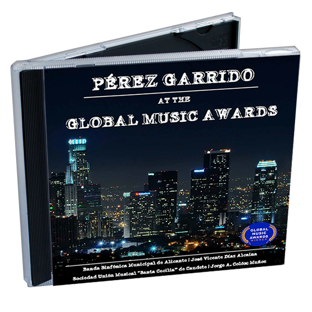 Pérez Garrido at the Global Music Awards