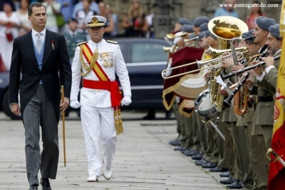 Santiago Apóstol March for the King and Queen of Spain
